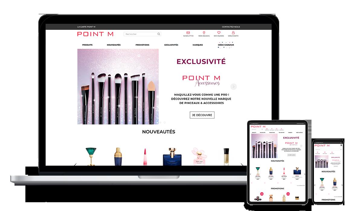 Site web de Point M