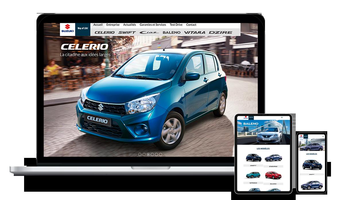 Site web de Suzuki Tunisie