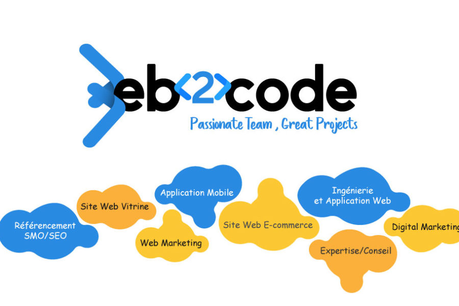 Web2code: Passionate Team, Great Projects